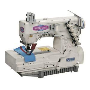 FG-666 平床型三針五線雙面飾綳縫機