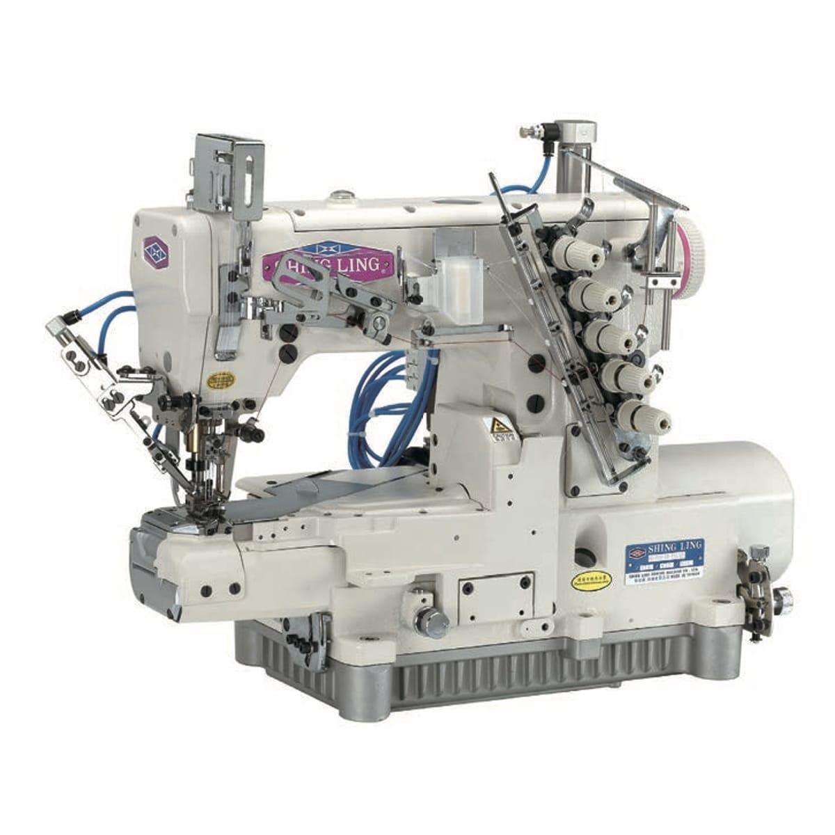 VG-999 Series 高速橫筒型三針五線雙面飾綳縫機
